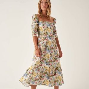 Reformation Cyprus Dress in Countryside *NEW*